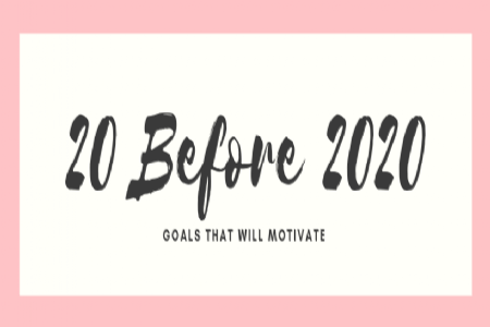 20 goals for 2020…