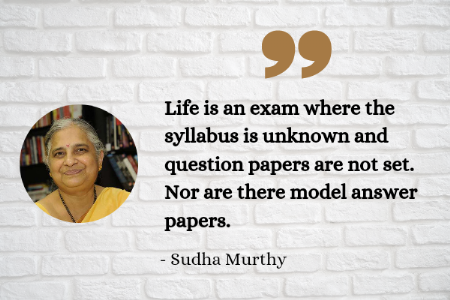 9 Inspiring Quotes by Sudha Murthy