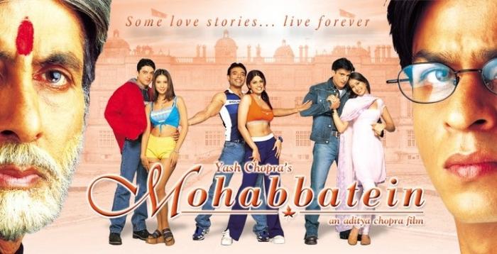 Mohabbatein movie_1