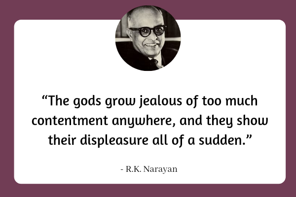 Quotes by R.K. Narayan _1