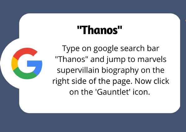 google fun Thanos_1