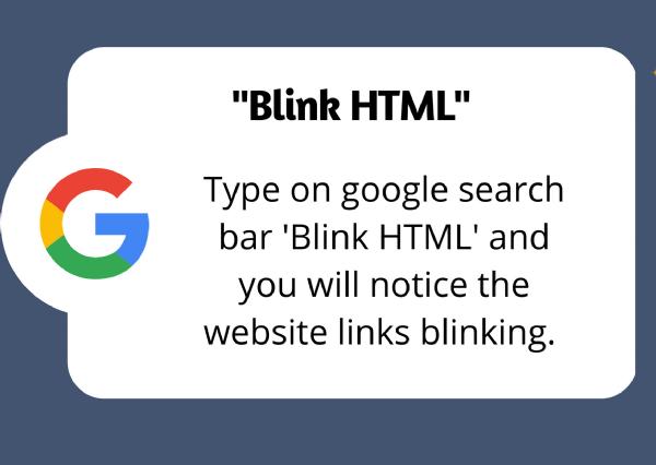 google fun Blink HTML_1&n