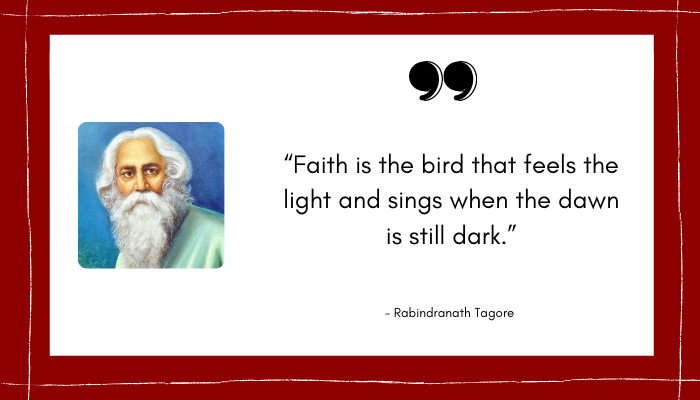 Quote by Rabindranath Tag