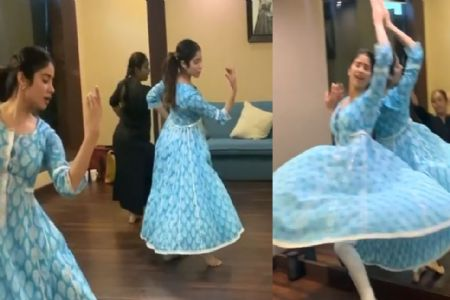 जान्हवी कपूर का खूबसूरत नृत्य हो रहा है व्हायरल