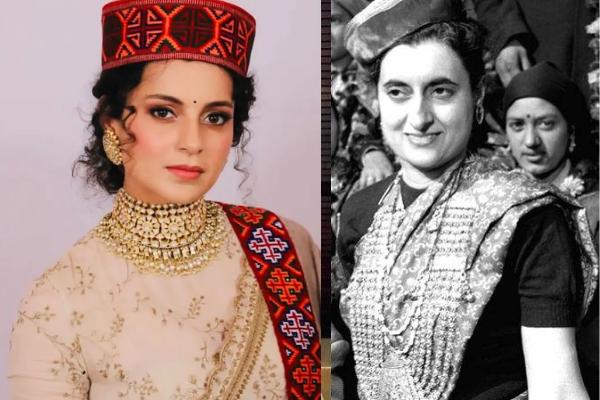 Kangana as Indira Gandhi_