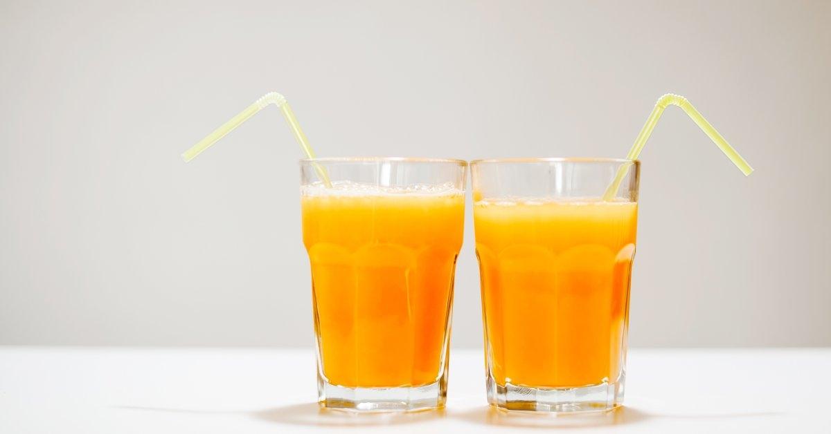 fruit juice & healthy ski
