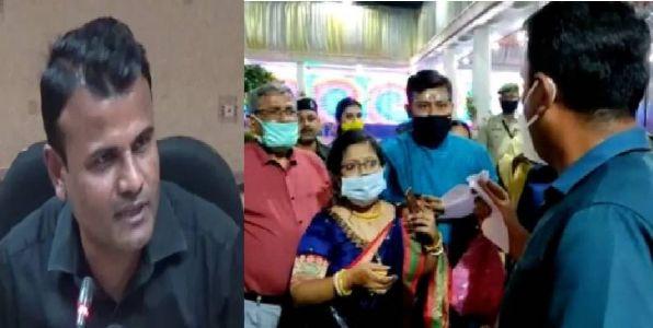 त्रिपुरा की शादी में बवाल माचेन के कारण डीएम शैलेश यादव सस्पेंड, ट्विटर पर छिडी बहस..!