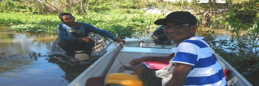 Indian Man saving Brazil's Amazon Rain Forest