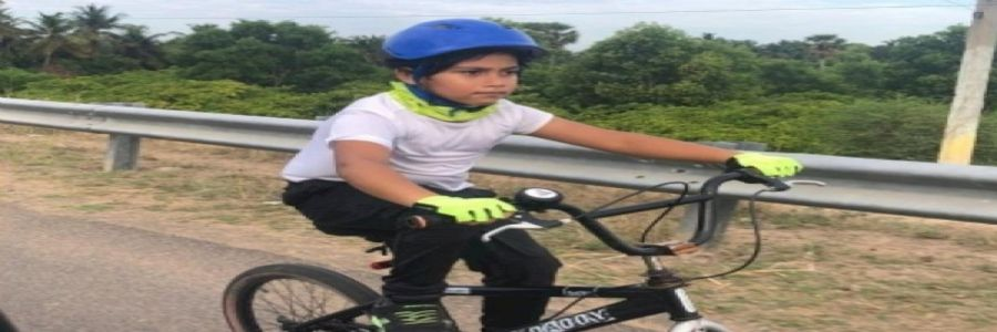 6-YO Sets World Record; Pedals 108 kms in 5 Hours